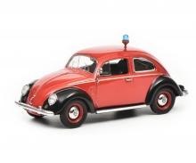 """schuco VW Käfer Ovali """"Feuerwehr"""", 1:43"""