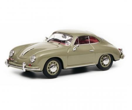 schuco Porsche 356 A Coupé, grey, 1:43