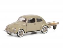 schuco VW Käfer w. Auto Porter 1:43
