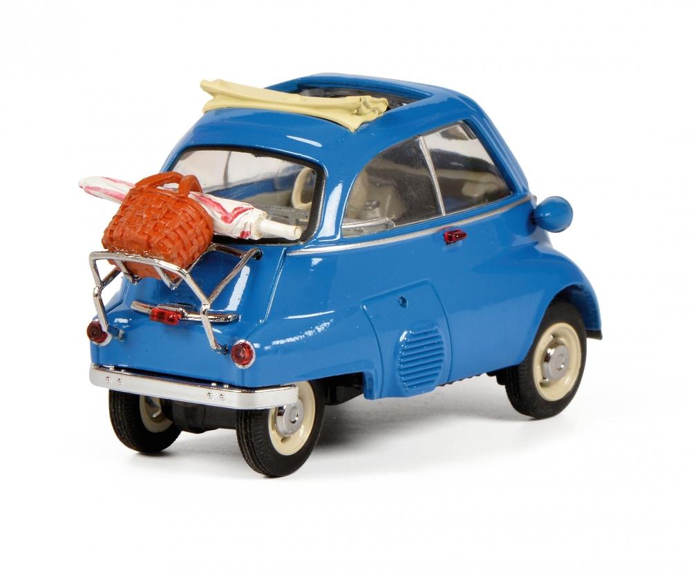 Schuco 02116 BMW Isetta naranja//beige 1:43
