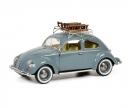 schuco VW Käfer mit Schlitten 1:43