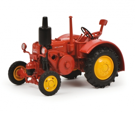 schuco K.L. Bulldog, red 1:43