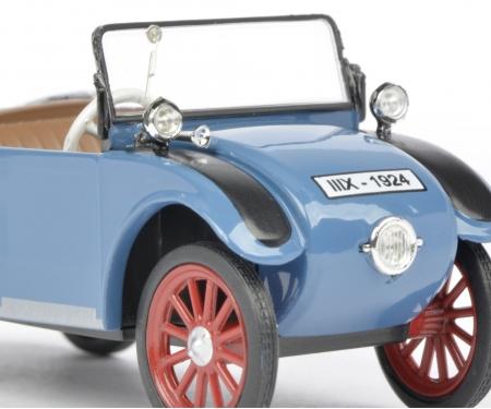 Hanomag Kommissbrot Cabriolet, blau 1:43