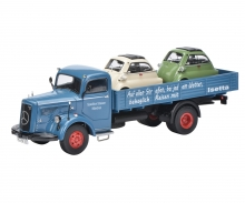 "Mercedes-Benz L6600 pick up with 2x BMW Isetta ""Isetta Auslieferung"" 1:43"