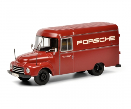 schuco Set Opel Blitz Porsche 1:43