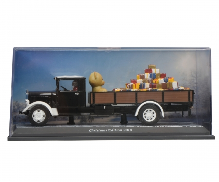 "schuco Mercedes-Benz Lo2750 ""Christmas 2018"" 1:43"