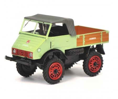 schuco Unimog U 401, light green, 1:43