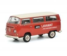 "VW T2a Bus L Luxus ""AEG Lavamat"", rot 1:43"