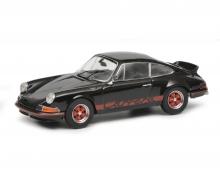 schuco Porsche Carrera 2.7 RS, schwarz, 1:43