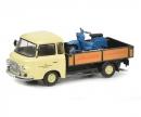 """schuco Barkas B1000 pick-up """"Schwalbe-Kundendienst"""", 1:43"""