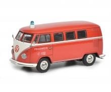"""schuco VW T1b Bus """"Feuerwehr"""", 1:43"""
