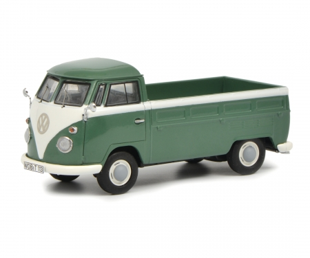 """schuco Set """"VW T1b"""", VW T1b Samba, Kastenwagen, Doppelkabine und Pritsche, 1:43"""