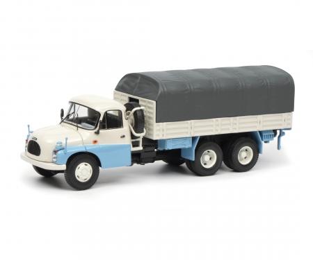 Tatra T138 pick-up with tarpaulin 1:43