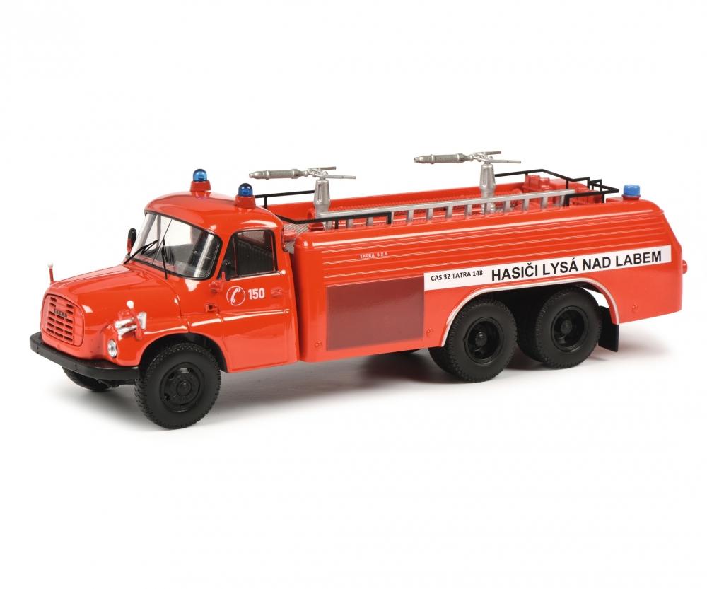 Tatra T148 Feuerwehr CSSR Tschechien rot Modellauto 1:43 Schuco