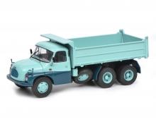 TATRA T138 Muldenkipper, turquoise blue, 1:43