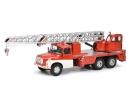 """schuco TATRA T148 crane vehicle """"Feuerwehr"""", 1:43"""