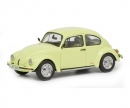 "schuco VW Beetle 1600i ""Summer"", lemon yellow 1:43"