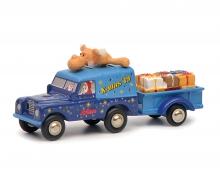 "schuco Land Rover mit Hänger ""Christmas Edition 2019"""