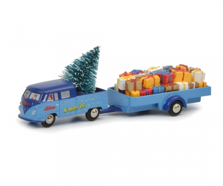 "VW T1 dual cab with trailer ""Christmas Edition 2018"""