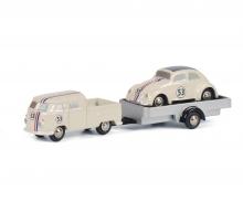 schuco MHI Pic.VW T1 w.tr.+Beetle#53