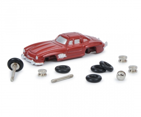 """schuco """"Der kleine Flügeltürer-Monteur"""", Piccolo construction kit, Mercedes-Benz 300 SL"""