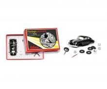 """schuco """"Der kleine Sportwagen-Monteur"""" Porsche 356 Coupé Piccolo construction kit"""