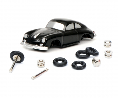 """Der kleine Sportwagen-Monteur"" Porsche 356 Coupé Piccolo construction kit"