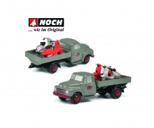 schuco Pic.Opel Blitz VESPA SERVICO