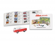 Set Piccolo-Sammlerkatalog 1994-2015 hardback with Piccolo VW T1 Doppelkabine