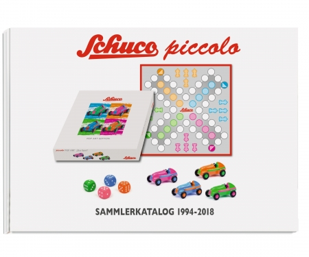 schuco Set Piccolo-Sammlerkatalog 1994-2018 with Mustang