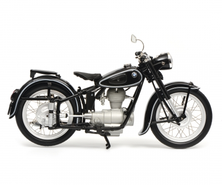 BMW R25/3 with single seat, black, 1:10