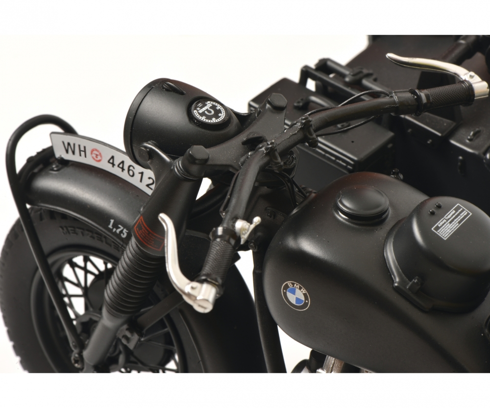 bmw r75 mit beiwagen wehrmacht grau 1 10 edition 1. Black Bedroom Furniture Sets. Home Design Ideas