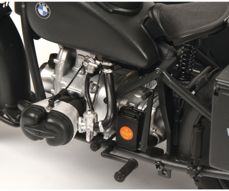 """BMW R75 mit Beiwagen """"Wehrmacht"""", grau, 1:10"""