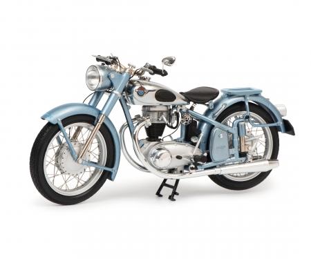 Horex Regina mit Einzelsitz, blau-metallic, 1:10