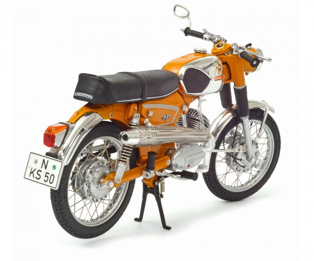 z ndapp ks 50 super sport orange 1 10 edition 1 10 motorcycle models models. Black Bedroom Furniture Sets. Home Design Ideas