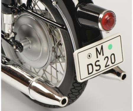 schuco BMW R69S w.single seat 1:10