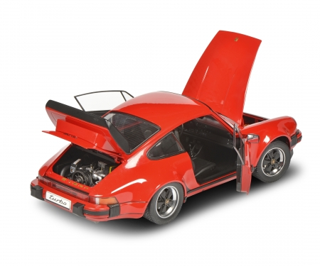 schuco Porsche Turbo 930 red 1:12