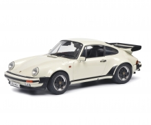Porsche Turbo 930 white 1:12