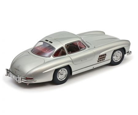 schuco MB 300 SL silver 1:12