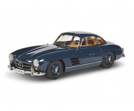 schuco MB 300 SL blue 1:12
