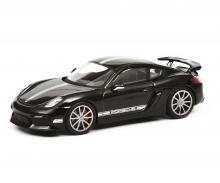 Porsche Cayman GT4, black, 1:43