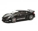 schuco Porsche Cayman GT4, schwarz, 1:43