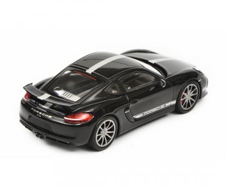 schuco Porsche Cayman GT4, black, 1:43