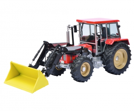 Schlüter Compact 1250 TV6 with front loader 1:32
