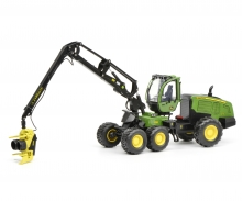 schuco John Deere Harvester 1270G 6W, green