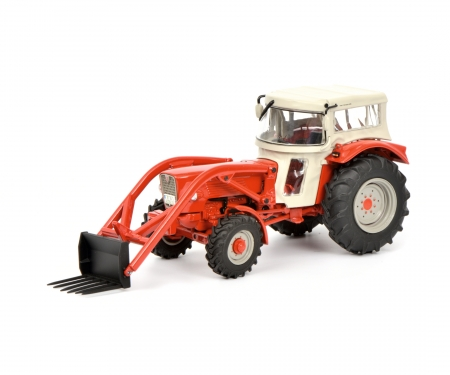 schuco Güldner G60A with roof and front loader 1:32