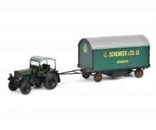Schuco Classic 450907600 Deutz 60PS Kettentraktor 1:32