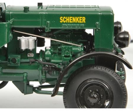 """Deutz F3 mit Verdeck und Hänger """"Schenker"""", 1:32"""