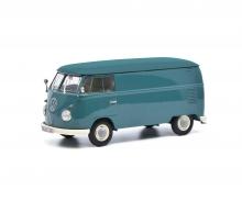 schuco VW T1 van blue 1:32