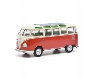 schuco VW T1 Samba,red-beige 1:32